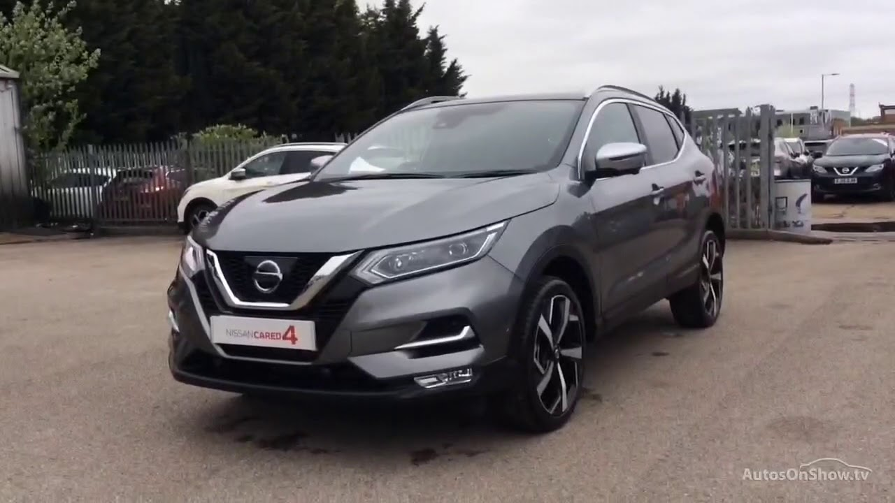 nissan qashqai tekna plus dig t grey 2018 youtube