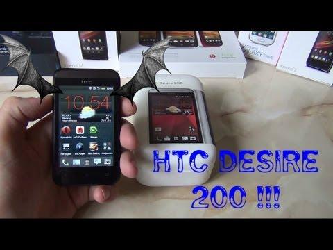 HTC Desire 200 - Маааленький 3.5 Смартфон / от Арстайл /
