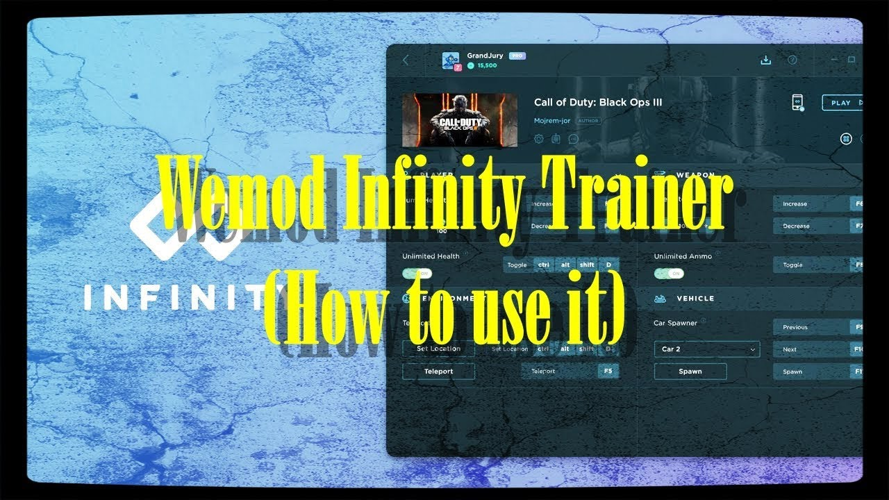 Wemod Infinity Trainer (How to use)