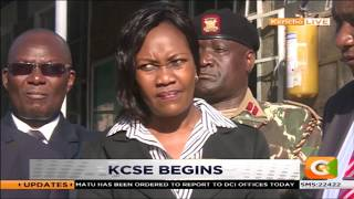 DAY BREAK | KCSE kicks off