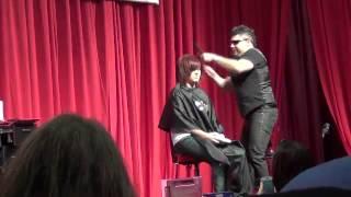 Joe Pena - Crazy Haircutter!!