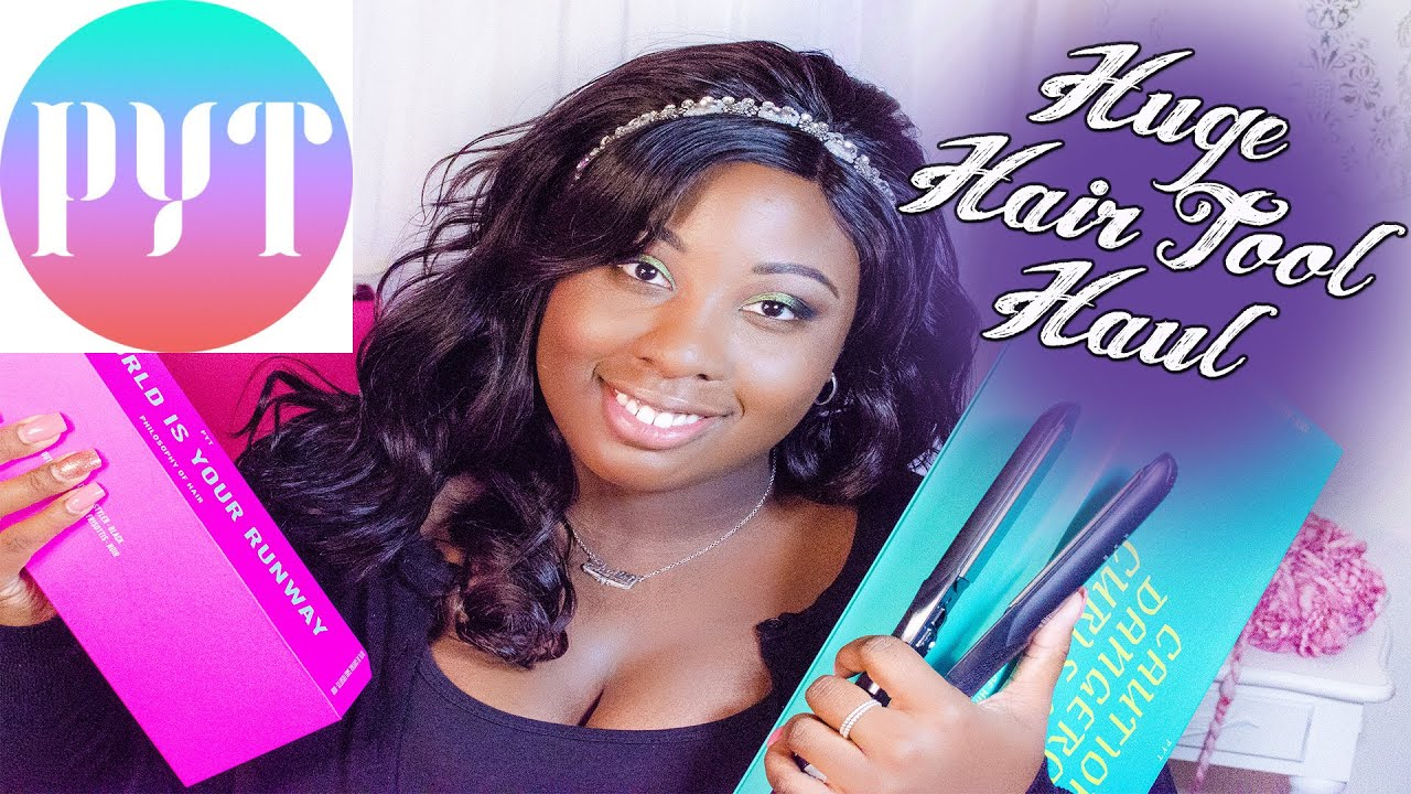 Huge Pyt Hair Tool Haul Youtube