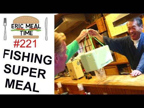 Fishing Tour & Mega Sardine Catch in Ibaraki, Japan - Eric Meal Time #221
