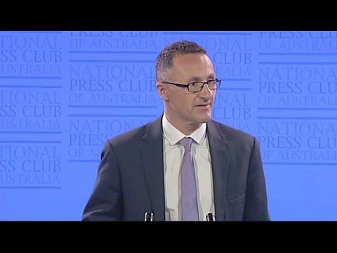 Richard Di Natale's National Press Club Address