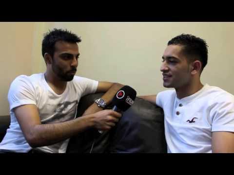 SAJ MOHAMMED (GUEST INTERVIEWER) INTERVIEWS HAROON KHAN @ GLOVES COMMUNITY GYM