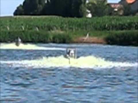 Video clip hay aireadores tratamiento de agua oxigenacion for Como oxigenar el agua de un estanque sin electricidad