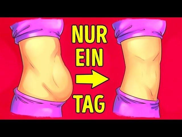 Wie man Gewicht in Bauch und Taille verliert