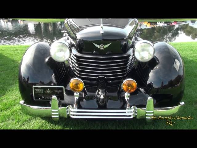 1937 Cord 812 Supercharged Coupe AMELIA ISLAND CONCOURS D'ELEGANCE
