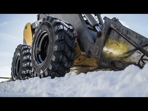 Winter Skid Steer Tires - Camso SKS 753