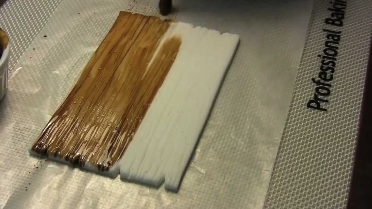 How To Create A Wood Effect On Gumpaste The Krazy Kool