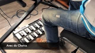 Repeat youtube video Korg Kronos Rhodes + FCB1010