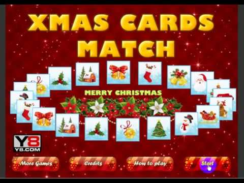 Juegos De Roblox De Y8 Xmas Cards Match Y8 Games Youtube