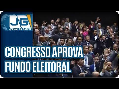 Congresso aprova fundo eleitoral
