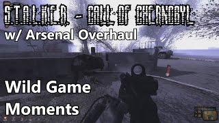S.T.A.L.K.E.R. - Call of Chernobyl w/ Arsenal Overhaul - Wild Game Moments