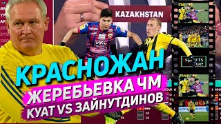 Красножан Куат Зайнутдинов жеребьевка ЧМ 2022 Sports True