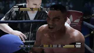 Mike Tyson vs Isaac Frost (Fight Night Champion)