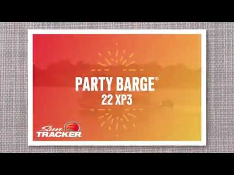 Sun Tracker Party Barge 22 XP3 video