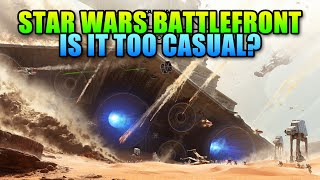 Star Wars Battlefront Beta Review - Is It Too Casual?