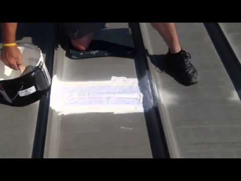 Metal Roof Seam Repair Youtube