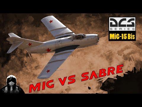 DCS World | MiG-15 Bis vs F-86 Sabre| Dogfight a muerte sobre el desierto