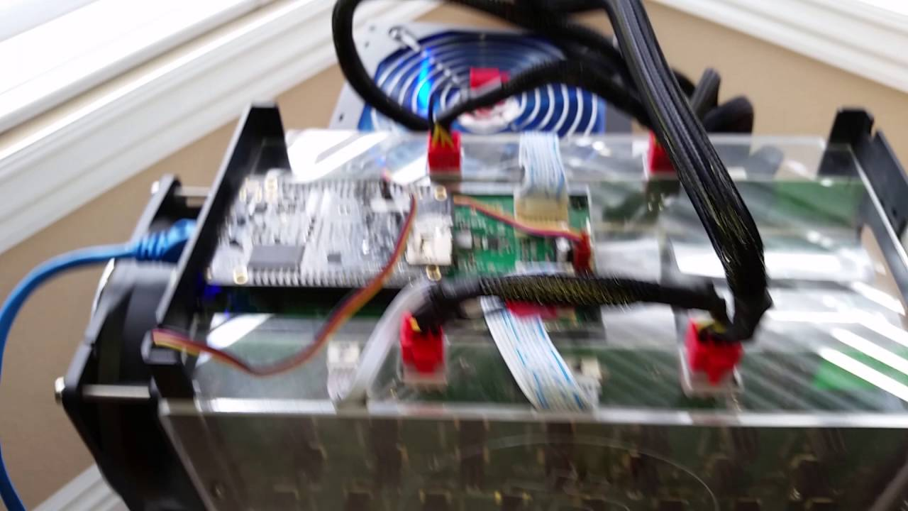 First Time Powering Up Bitmain Antminer S5 with Enclosure & Quieter Fan -  Bitcoin Miner by Paul79UF