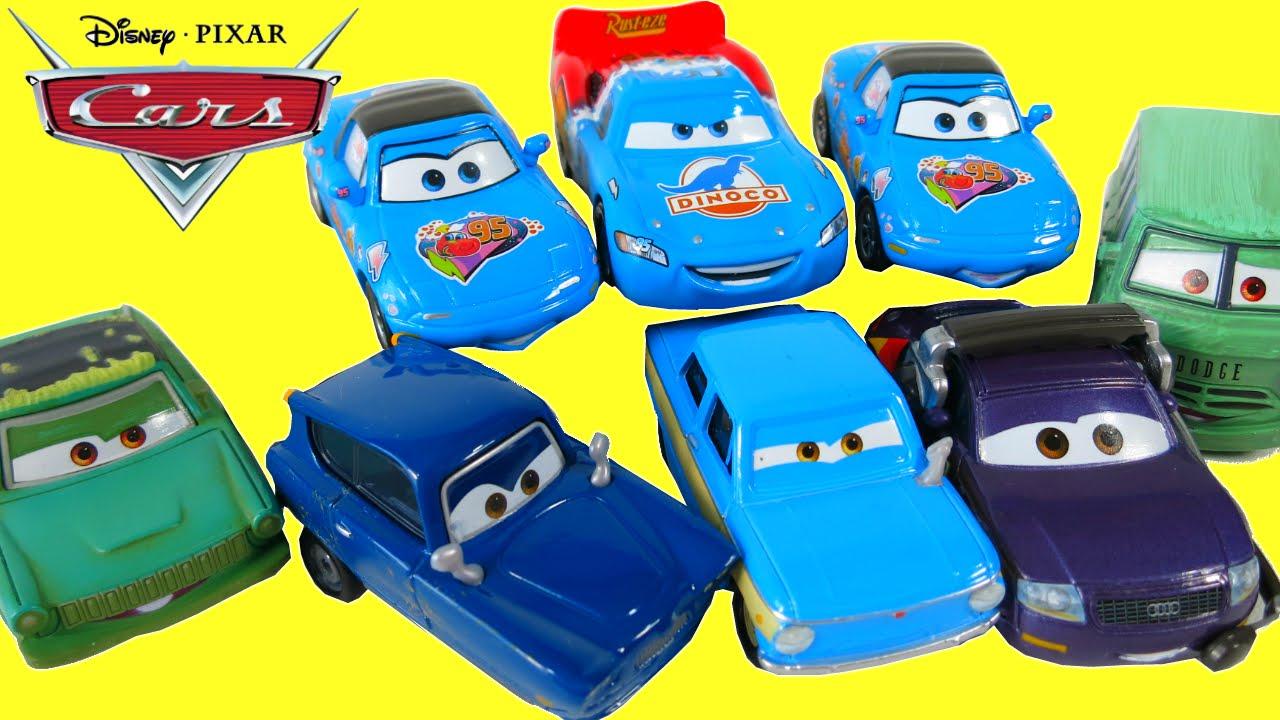 Disney Pixar Cars 2016 Characters Supercharged Dinoco Lightning
