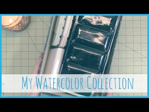 My Watercolor Collection!
