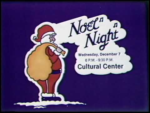 Noel Night, Christmas Carnival, and Neighborhood Shopping Days Title Cards (1983)