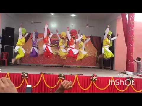 Khalsa college Mohali Bhangra Got first Prize victory at Khalsa college Amritsar Bhangra by RR