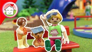 Playmobil Film deutsch - Anna und Lena auf dem Spielplatz - Familie Hauser Spielzeug Kinderfilm