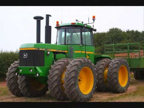 Big green tractor official music video