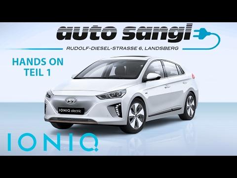 Hyundai Ioniq Elektro: Laden & Co. / Ioniq Electric: charging & Co.