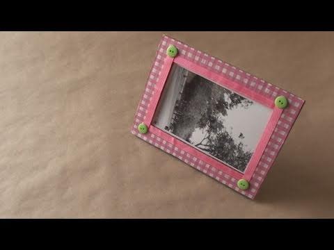 Portarretratos ecologico // Dia de los enamorados