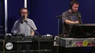 Hot Chip performing