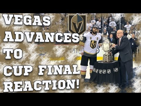 Reaction to the Vegas Golden Knights going to the Stanley Cup Final!