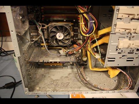 видео: Правильная очистка и сборка домашнего компьютера