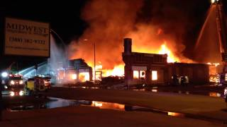 Fire in Downtown Grand Island