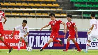 AFC U 16  PHL vs LAOS 1 6