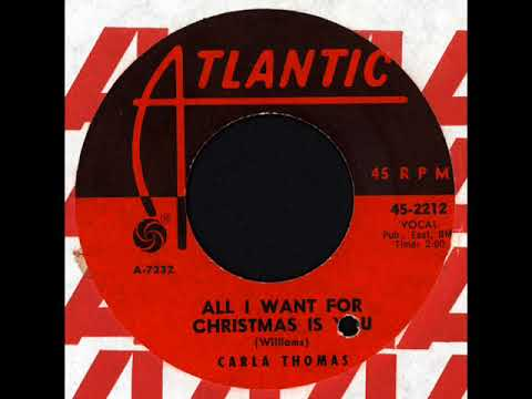 carla thomas gee whiz its christmas atlantic 45 2212 1963