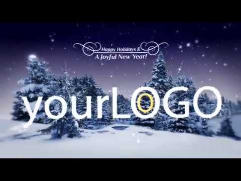 Holiday Corporate Greetings - After Effects template project