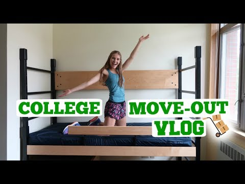 COLLEGE MOVE OUT VLOG! UNIVERSITY OF OREGON