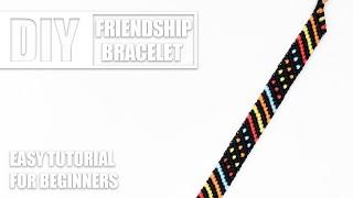 Polka Candy Stripes Dots Lines Macrame Friendship Bracelets | Easy Tutorial for Beginners