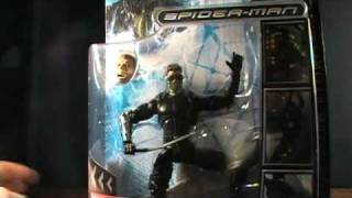 Marvel Legends Spiderman 3 Movie New Goblin figure review