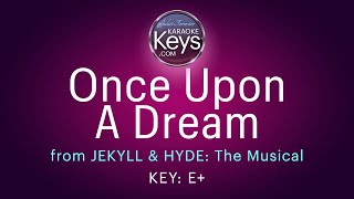 Once Upon A Dream, from JEKYLL & HYDE, The Musical  (karaoke piano)  WITH LYRICS