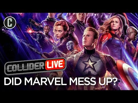 Avengers Endgame Poster Backlash Shows Results Collider Live 93