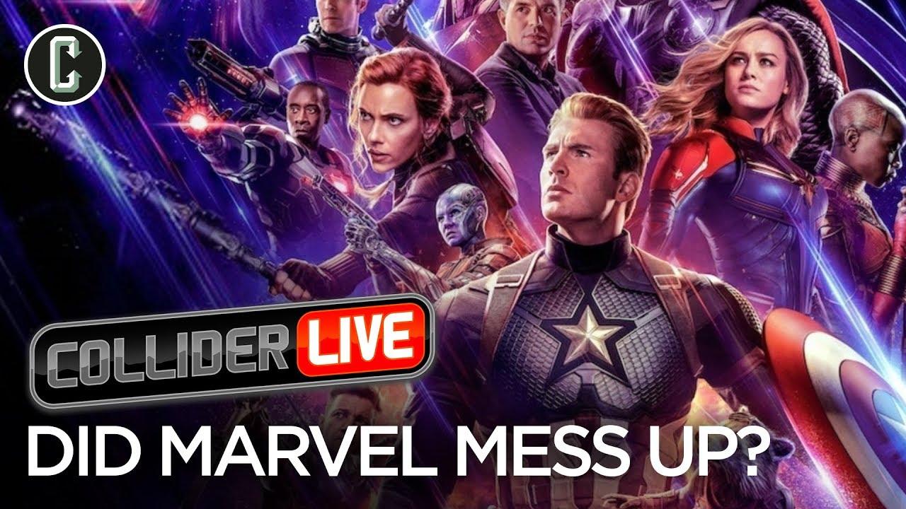 Avengers Endgame Poster Backlash Shows Results Collider Live 93 Youtube
