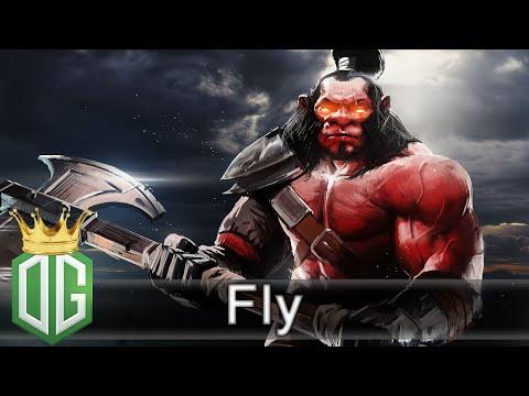 OG.Fly Axe Gameplay vs AdmiralBulldog - Ranked Match - OG Dota 2