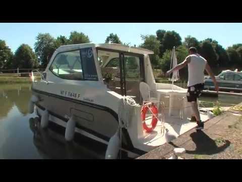 Croisière fluviale en Alsace au départ de Harskirchen - Nicols, les vacances en bateaux sans permis