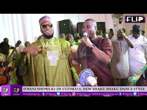 D'BANJ SHOWS K1 DE ULTIMATE  NEW SHAKU SHAKU DANCE STYLE