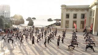 Flash Mob (vidéo officielle) / Stage international de danse / Biarritz / 2013